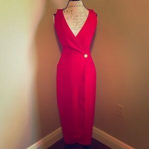 EUC 💜 KENAR DRESS | Red Long Dress